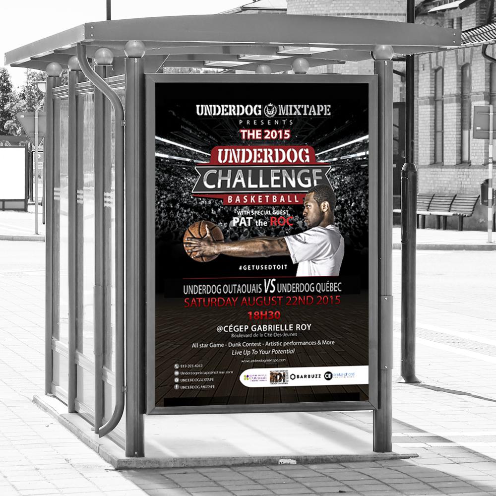 underdog-challenge 2015 poster
